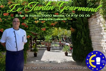 Le jardin gourmand restaurants amberieux for Restaurant le jardin gourmand amberieux
