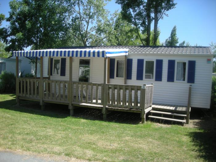 Mobilhome CONFORT 2 chambres + terrasse couverte