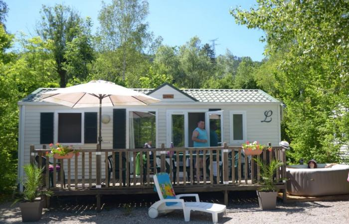 Mobil homes Louisiane spa privatif