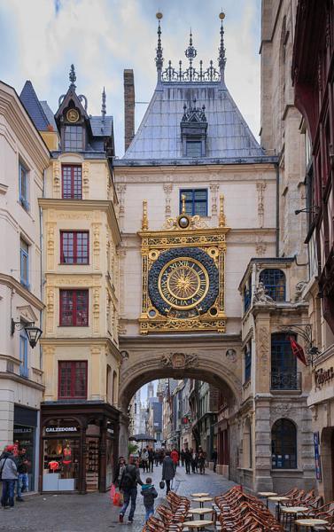 Le Gros Horloge Monument Rouen