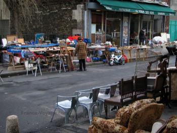 March aux puces sortie saint ouen - Marche porte de clignancourt ...