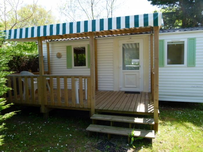Mobil-home 4/5 personnes +27,50 m² terrasse couverte