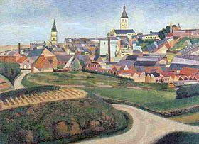 Circuit le cateau cambr sis une ville la campagne le for Piscine le cateau